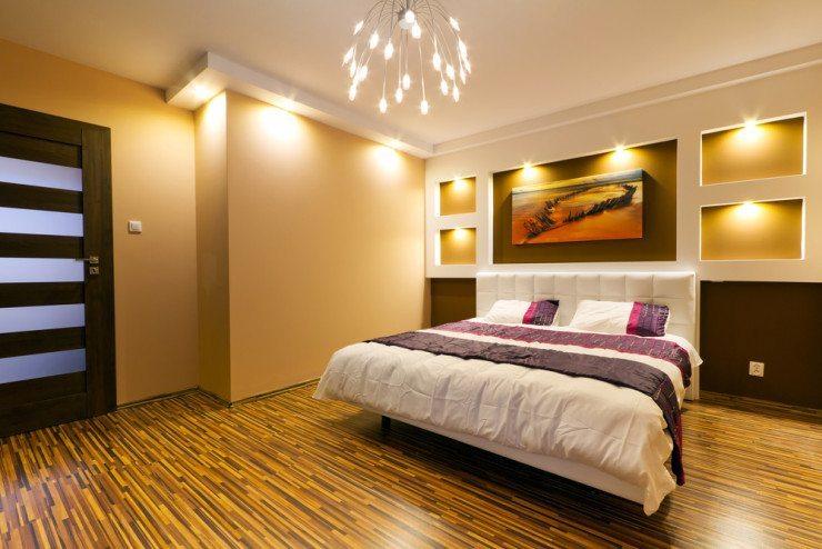 Das Bett als Blickfang - warum nicht? (© Patryk Kosmider - shutterstock.com)