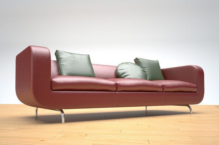 Ein schickes Sofa ist ein Blickfang im Raum. (Bild: © F. Schmidt - Fotolia.com)