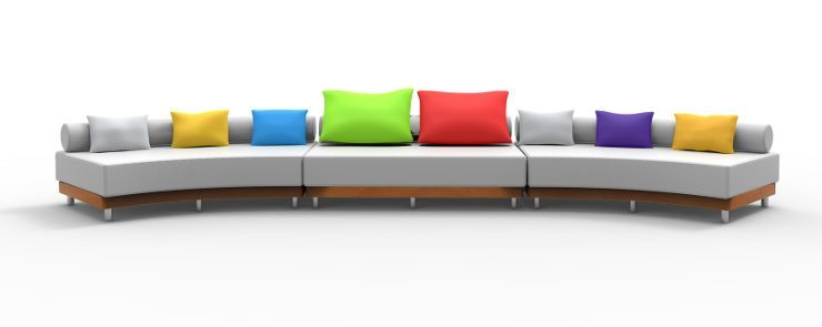 Setzen Sie ihr Ledersofa perfekt in Szene. (Bild: © deusexlupus - Fotolia.com)