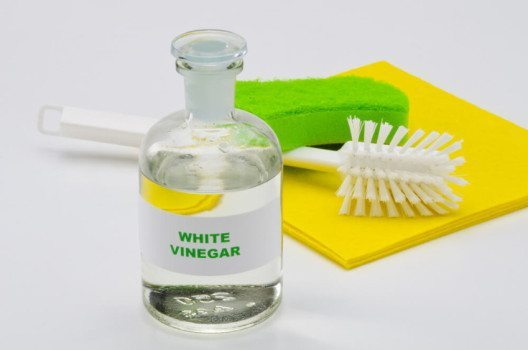 Essig ist beim Reinigen ein wahres Multitalent. (Bild: Pat_Hastings / Shutterstock.com)