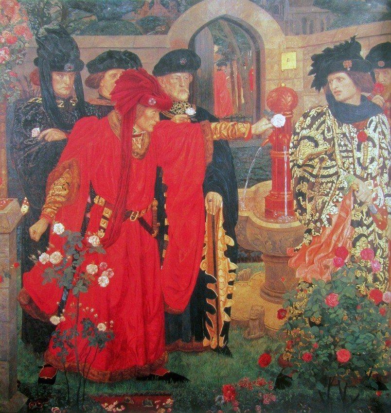 In England hat die Rose mit den Rosenkriegen eine besondere Bedeutung. (Bild: © wiki.org)