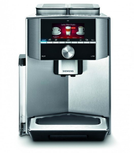 Der neue EQ.9 definiert neue Ansprüche für Kaffeevollautomaten der Premiumklasse. (Bild: © siemens-home.ch)