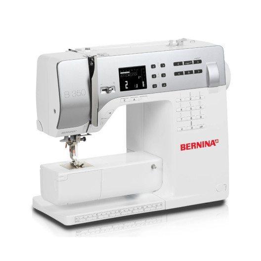 Mit der 3er-Serie die ideale Ausstattung für Neulinge: Bernina 350 PE (Bild: © berninazug.ch)