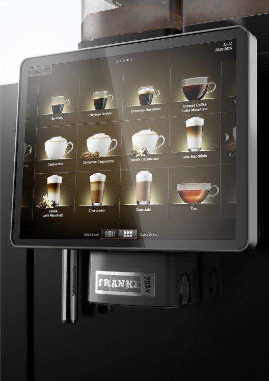 In Sachen Kapazitaet ist die A800 von Franke Coffee Systems eine Groesse für sich. (Bild: © Franke Coffee Systems)
