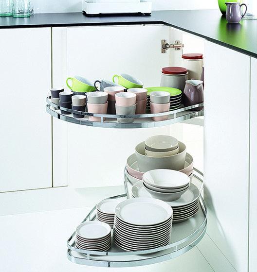 Kleine Küchen sind bei guter Planung kompakte Wunder mit ausgesprochen praktischen Funktionen. (Bild: AMK)