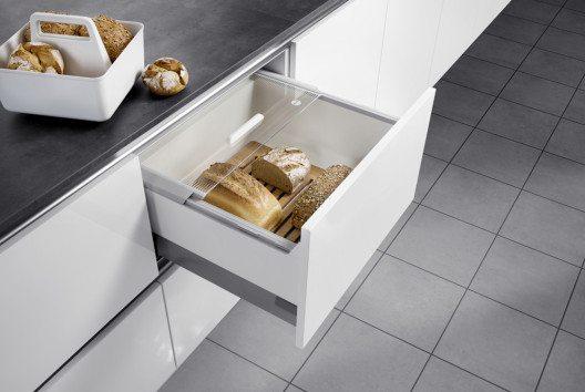 Die Pantry-Box vereinigt Multifunktionalität und Ordnung. (Bild: Hailo Einbautechnik)