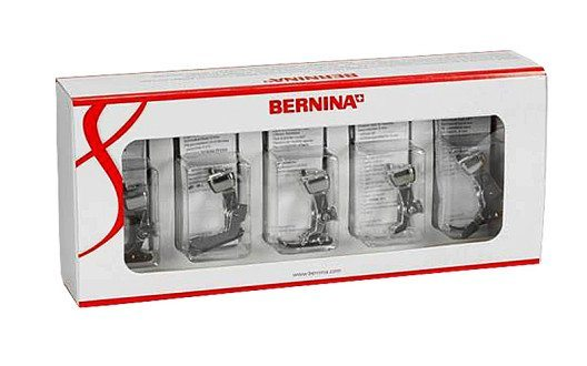 BERNINA Nähfuss-Set (Bild: Bernina)