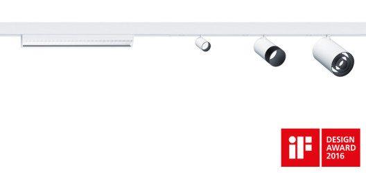 Das LED-Lichtsystem SUPERSYSTEM II überzeugt mit einer reduzierten Formensprache und wird aus hochwertigem natur-eloxiertem Aluminium gefertigt. (Bild: Zumtobel)