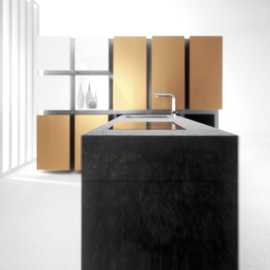 """EuroCucina 2016: Das Motto """"Kitchen in motion"""" wird von Häcker Küchen auf jedem Quadratmeter gelebt."""