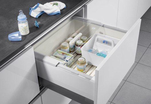 Die Pantry-Box von Hailo Einbautechnik wurde erneut ausgezeichnet. (Bild: Hailo)