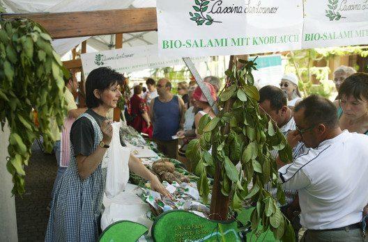 Bio-Verkaufsmarkt (Bild: biomarche.ch)