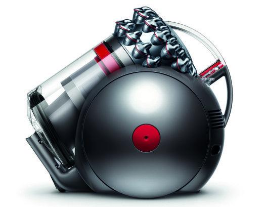 Der neue Dyson Cinetic Big Ball Staubsauger ist ein Stehaufmännchen. (Bild: Dyson)