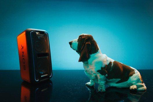 Die neue Party-Box GTK-XB7 von Sony ist das ideale Gadget für Party Animals. (Bild: Sony)