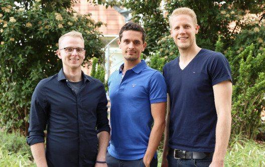 Das Team des Startups poqit.berlin (Bild: Julia Berger)
