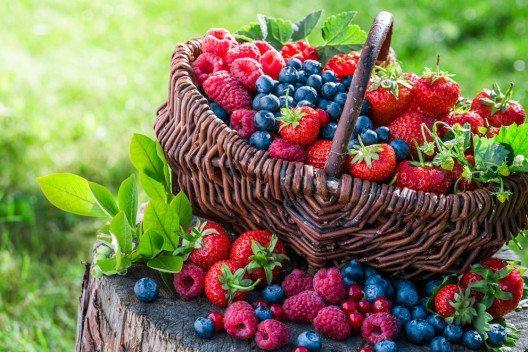 Im Sommer landen wieder frische Beeren auf dem Teller. (Bild: Shaiith – Shutterstock.com)