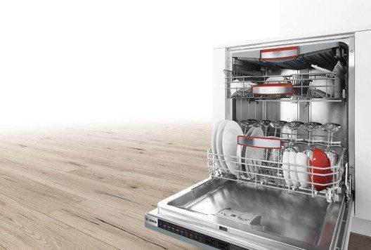 Ein innovativ designter Luftauslass erreicht flächendeckend sämtliche Geschirrteile. (Bild: Zeolith©-Trocknen)