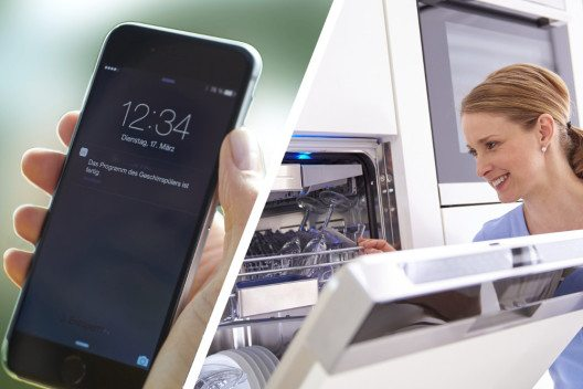 """Flexibles Zeit- und Haushaltsmanagement: Jeder kann sich seinen Traum """"Smart Kitchen"""" heute erfüllen. (Bild: © AMK)"""