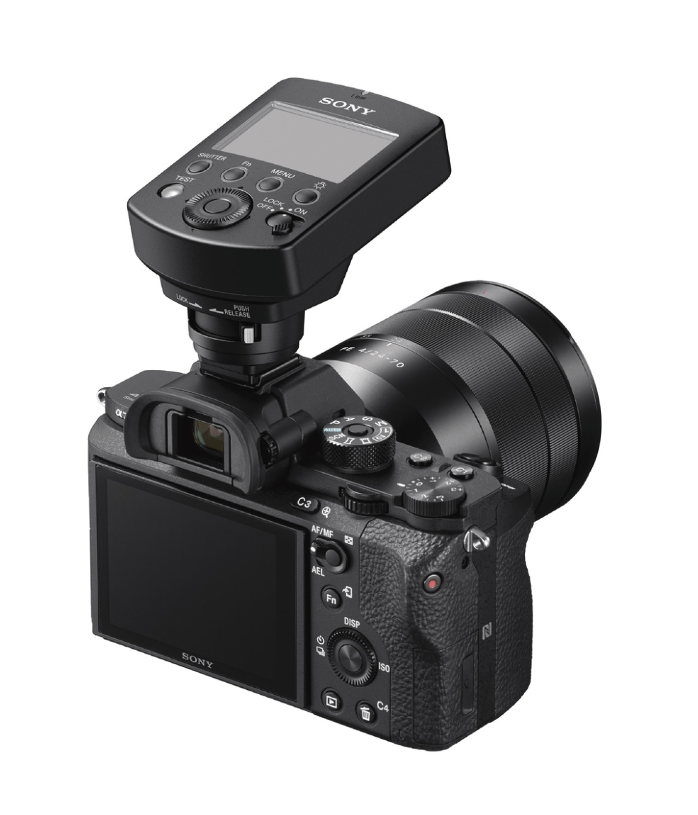 Neues Drahtlos-Blitzsystem für Alpha Kameras