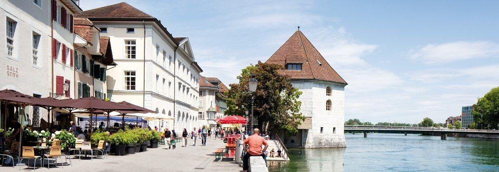 Aareufer Solothurn (Bild: © Tobias Dimmler_SHS)