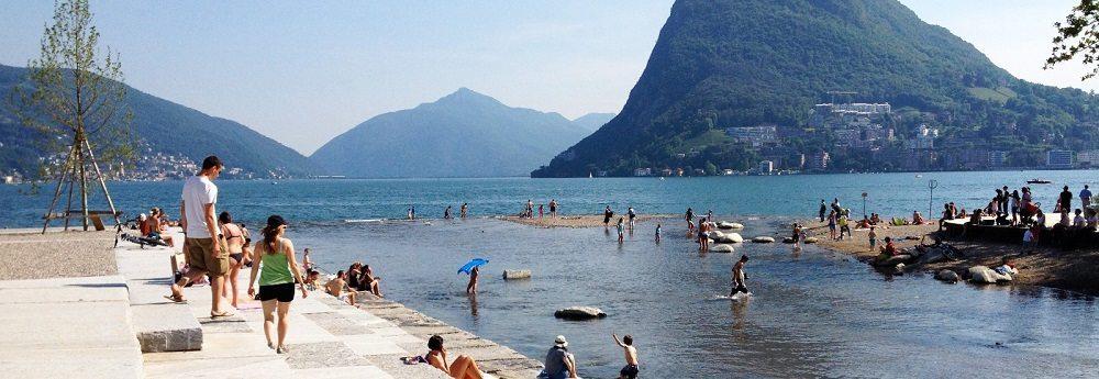 Parco Ciani e della Foce Lugano (Bild: © Officina del paesaggio)