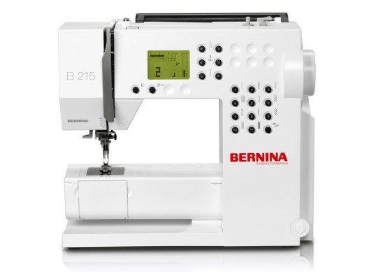 Einfache Näharbeiten sind faktisch mit allen Nähmaschinen problemlos umsetzbar. (Bild: Bernina International)