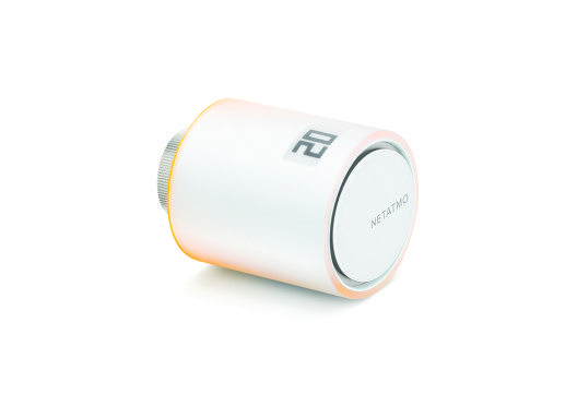 Netatmo Smarte Heizkörperthermostatel - Freisteller Orange (Bild: © Netatmo)