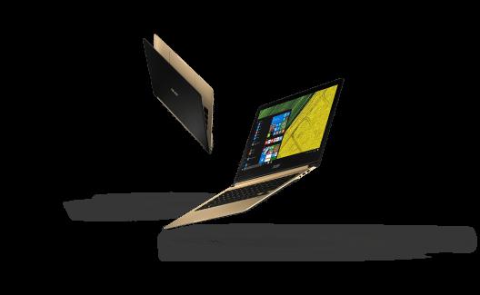 Swift 7 - ultraleicht und dünn wie ein Bleistift (Bild: © Acer Computer (Switzerland) AG)
