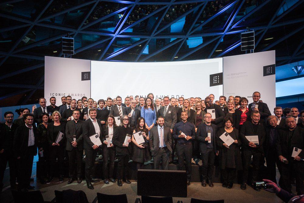 Die Gewinner der Iconic Awards 2016 (Bild: © Isabel Humpert & Moritz Wagner – themediadepartment.de)