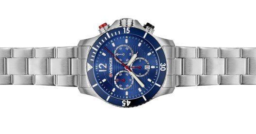 Die neuen Seaforce Uhren punkten mit stilvoller Eleganz und Funktionalität. (Bild: Wenger / Seaforce)