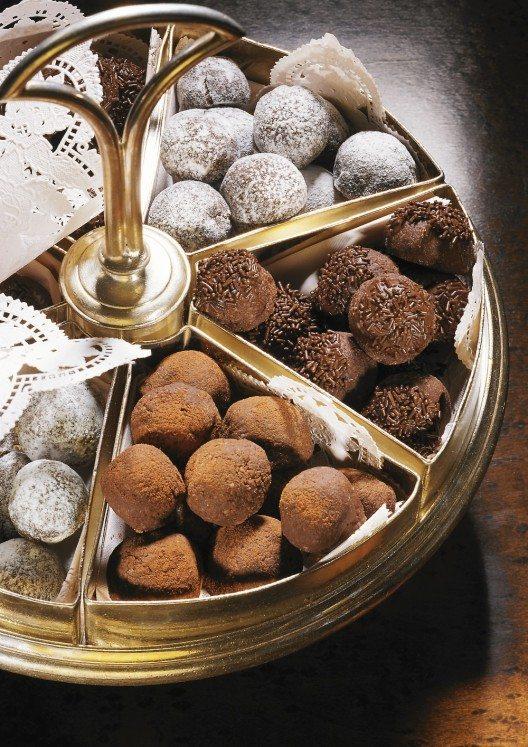 Schokoladenkugeln Myrta: Bekannt durch Betty Bossi.