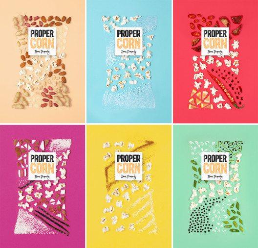 Propercorn – moderne Variante von Popcorn. (Bild: Propercorn)
