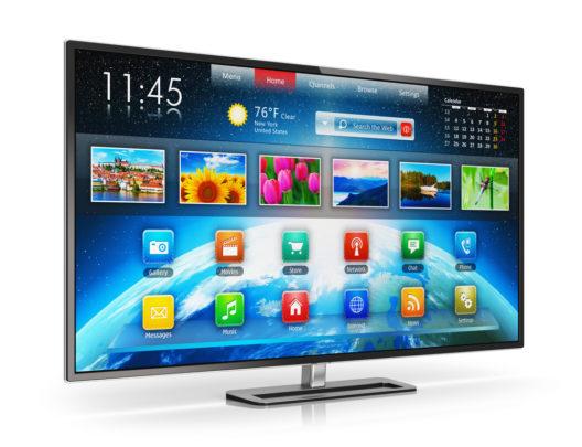 Smart TVs bieten neue Möglichkeiten. (Bild: Scanrail1 - shutterstock.com)