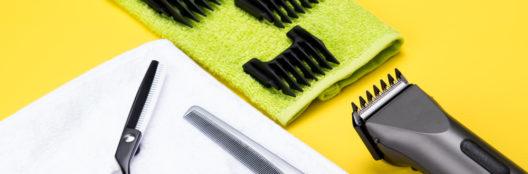 Haare schneiden wie ein Profi - mit einem Langhaarschneider (Bild: Aleksey Kurguzov - shutterstock.com)