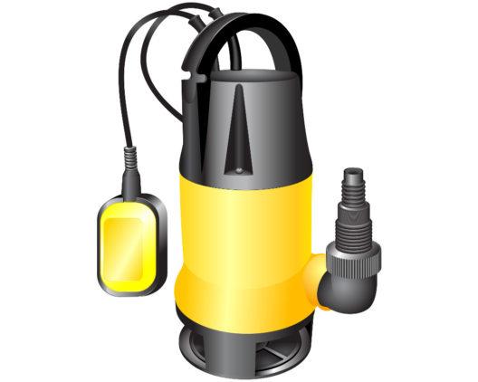 Eine Tauchpumpe ist vielseitig einsetzbar. (Bild: Elena Podolny - shutterstock.com)