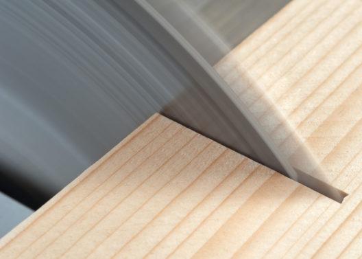 Vorsicht beim Umgang mit der Tischkreissäge! (Bild: Fotokostic - shutterstock.com)