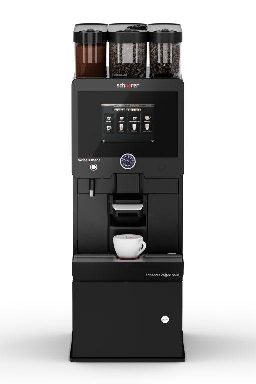 Schaerer Coffee Soul mit Unterstellkühleinheit für ein Fassungsvermögen von 9,5 Liter Milch