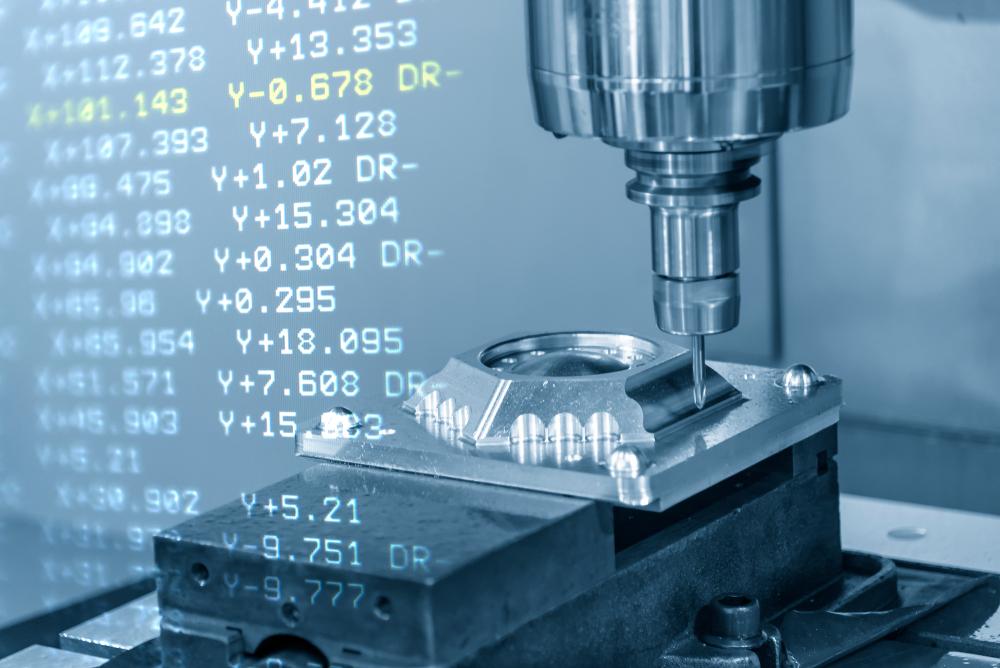 CNC Maschinen arbeiten mit höchster Präzision. (Bild: Pixel B - shutterstock.com)